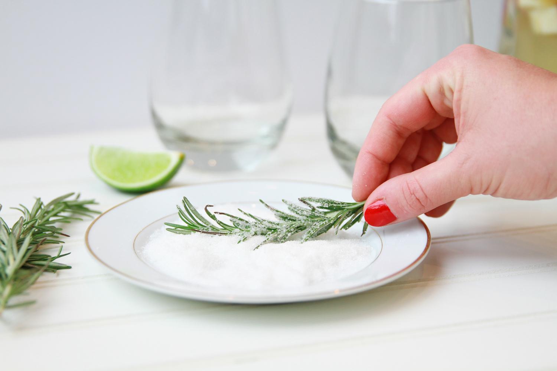 Rosemary Holiday Sangria Recipe