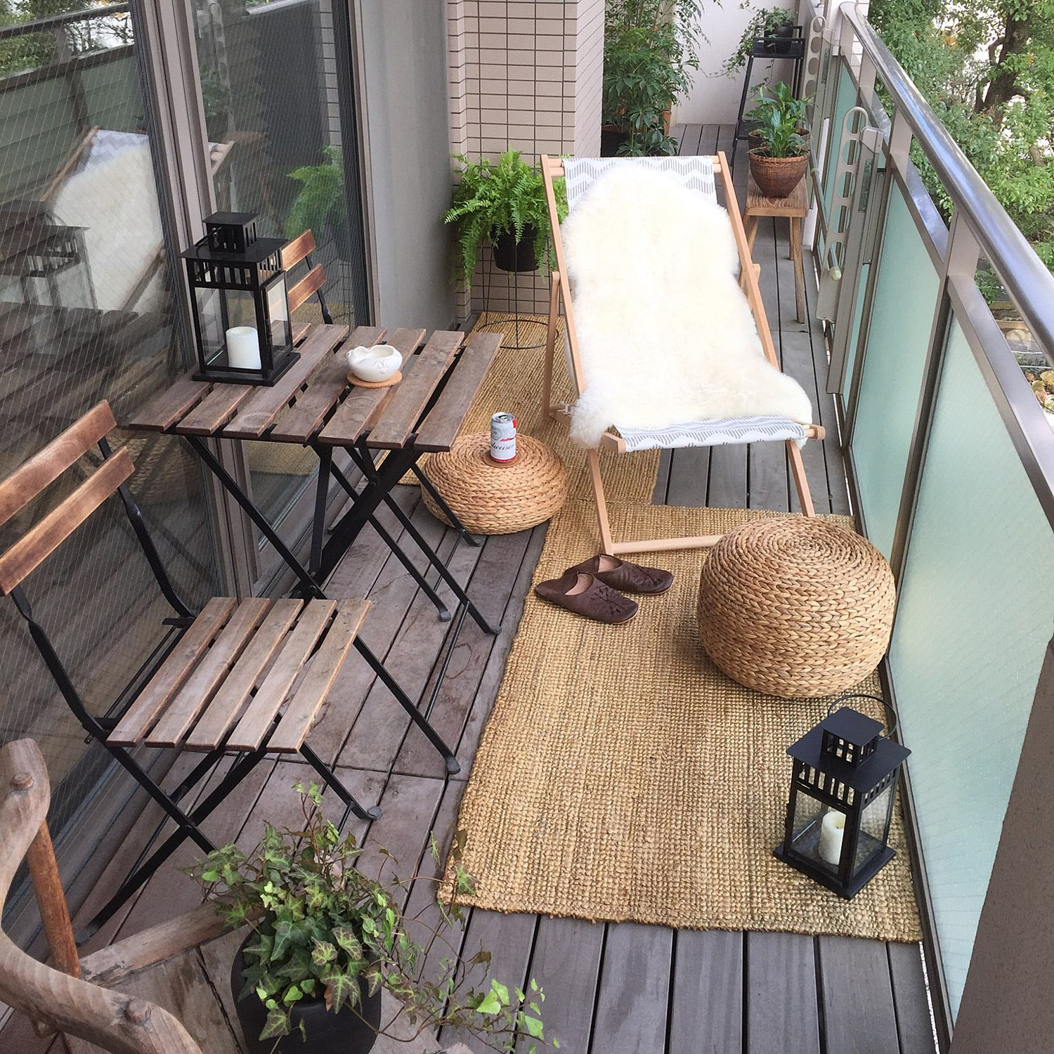 Balcony: Inspiration For Small Apartment Balconies In The City